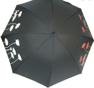 Poppy colour change stick umbrella. Soake brand