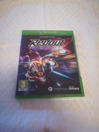 REDOUT Race Faster Than Ever xbox one