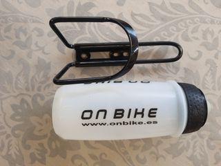 portabotes bote bicicleta