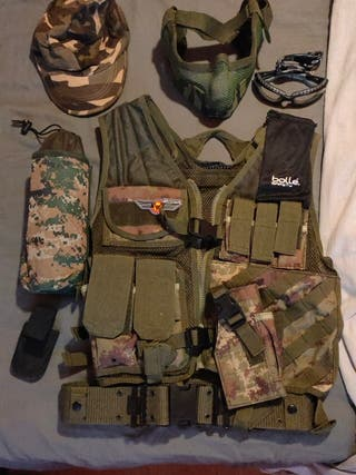 ropa airsoft