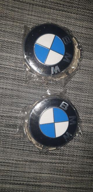 TAPACUBOS LLANTAS BMW NUEVOS!!!