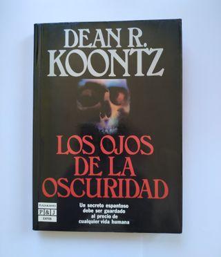 """Libro """"LOS OJOS DE LA OSCURIDAD"""""""
