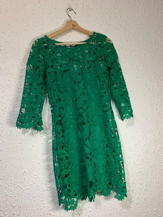 Vestido verde talla s
