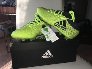 botas de fútbol sin estrenar