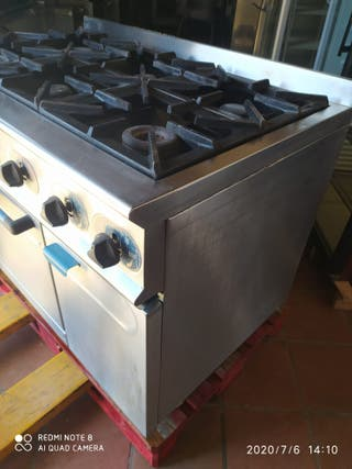 Mundigas cocina industrial serie 750