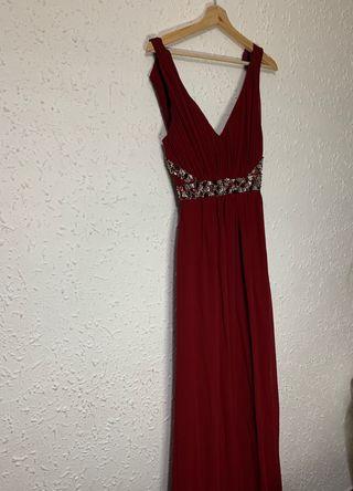 Vestido rojo talla m
