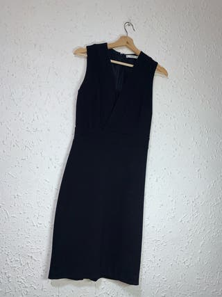 Vestido azul talla s