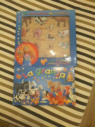 Libro puzzle infantil