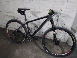 Bicicleta carbono 27'5 Merida talla 17 - M