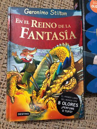 Libro Geronimo Stilton en el reino de la fantasía