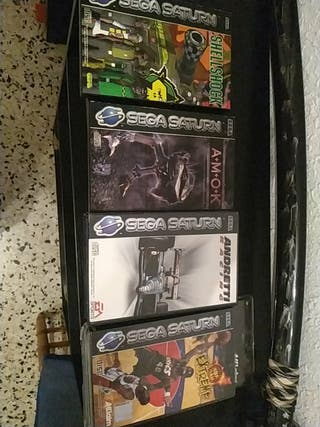 Videojuegos (Sega Saturn)