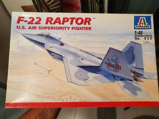 Maqueta F22 Raptor