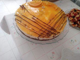tarta de naranja sin horno