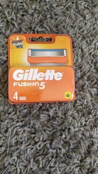 paquete ojillas Gillette fusión