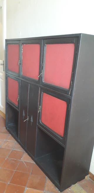 antiguo armario - madera