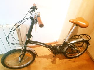 bici plegable super ligera semi nueva