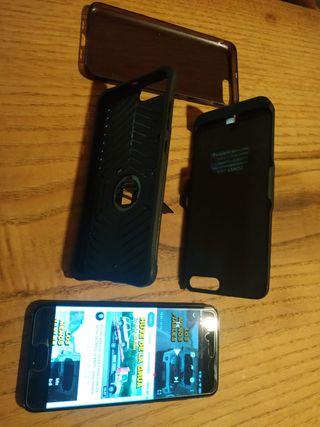 Xiaomi mi 6 con funda-cargador
