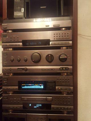 Equipo de musica módulos Stereo Sony