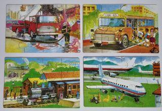 Puzzles Infantiles de Madera