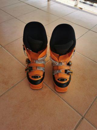botas esquí niño 33-35