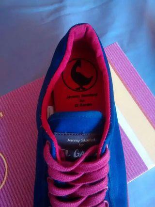 Zapatillas El Ganso nuevas con caja
