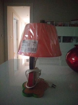 lampara de mesita auxiliar