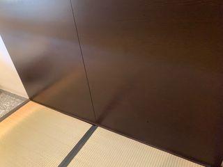Cama tatami de bambu