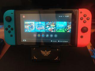 Nintendo Switch v2 + juegos + accesorios