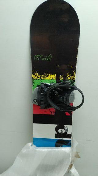 Tabla Snowboard + Botas + Fijaciones