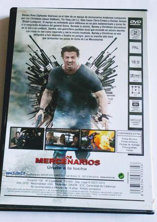 LOS MERCENARIOS Dvd