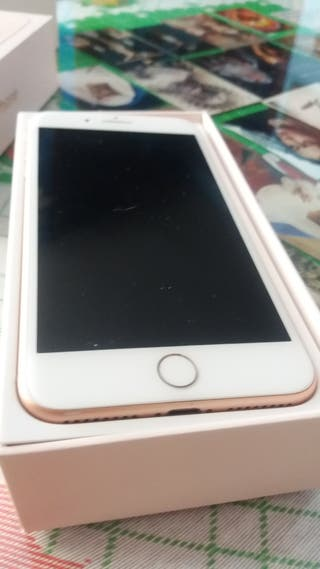 Iphone 6S Plus Rosa Oro de 128gb como nuevo