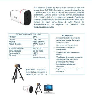 Kit de cámara termográfica