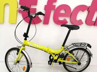"bicicleta Folding Park 20"" Plegable - Verde/Blanca"