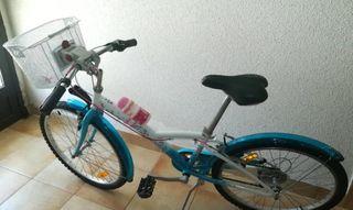Bicicleta para niños + accesorios