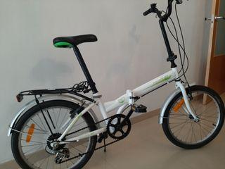 bicicleta plegable buen estado.
