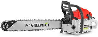 Greencut GS7200 24 - Motosierra de gasolina, 72cc