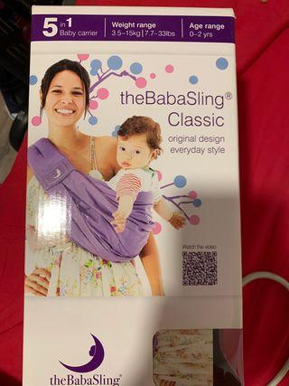 Bandolera BabaSling portabebes