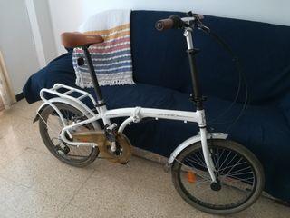 bici plegable urbana