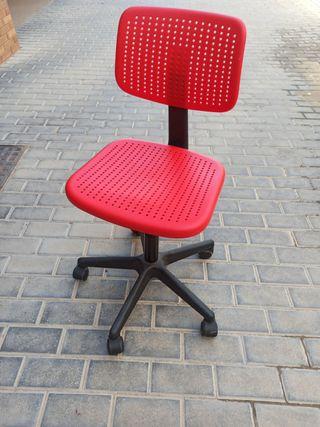 silla escritorio - giratoria - hidráulica