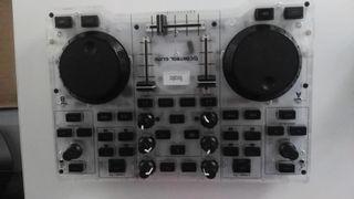 tabla de mezcla de musica (dj)