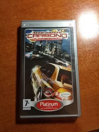 Nerd for Speed carbono PSP
