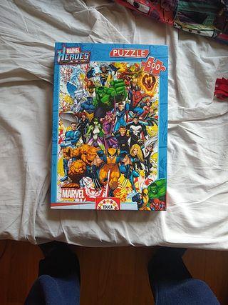 Puzzles heroes MARVEL 500 piezas