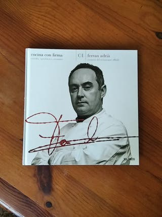 Cocina con firma. Ferran Adrià.