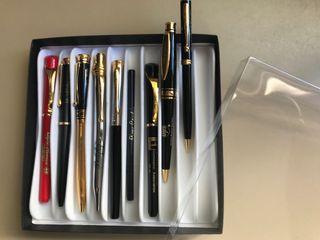 Lote de bolígrafos PIERRE Cardin NUEVOS grabados
