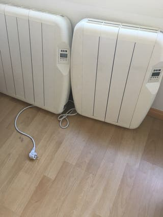 Radiadores eléctricos ( emisores térmicos )