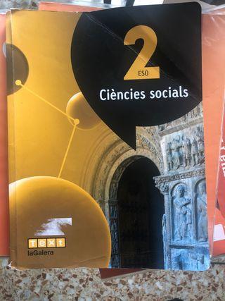 Libro sociales segundo de la ESO
