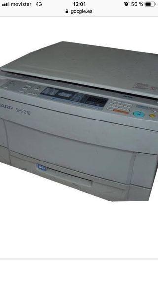 Fotocopiadora monotono Sharp