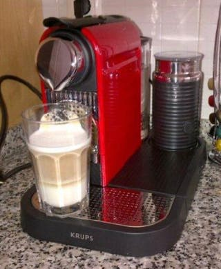 Cafetera Nespresso Citiz Milk