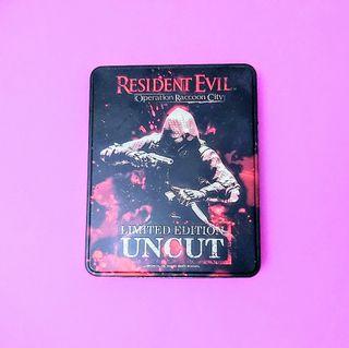 Caja de Metal de Resident Evil: Operation Raccoon