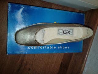 Zapato mujer de piel